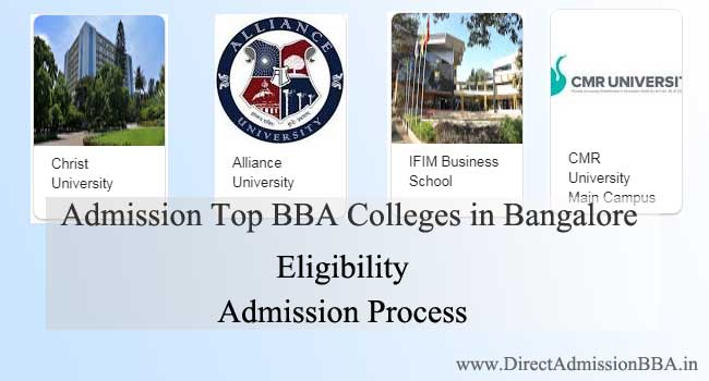 Direct admission BBA in Bangalore